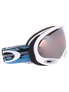 Маска Oakley A-Frame 2.0 Ripped N Torn Black Purple / Violet Iridium