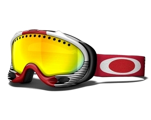 Маска Oakley A-Frame Red Future Primitive / Fire Iridium
