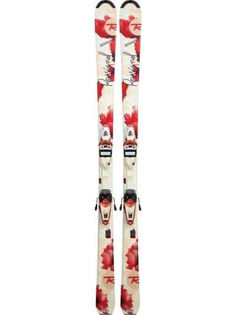 Горные лыжи с креплениями Rossignol Attraxion WTPI2 + Saphir 90L TPI2 11/12
