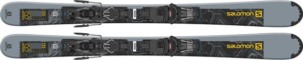 Горные лыжи Salomon Distance 125 + крепления M10 GW L9 (21/22)