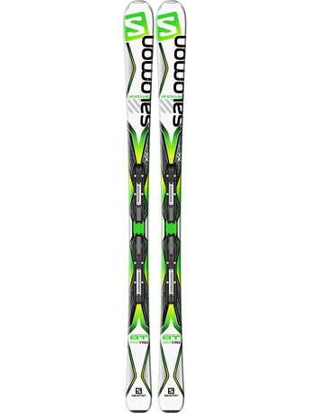 Горные лыжи Salomon X-Drive 8.0 BT + крепления Lithium 10 15/16