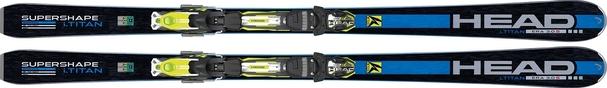 Горные лыжи Head i.Supershape Titan + крепления PRX 12 S Wide BR88 (14/15)