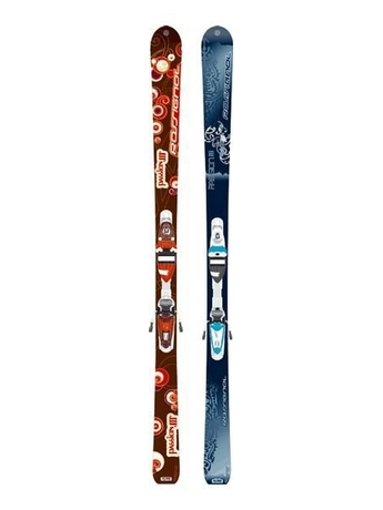 Горные лыжи Rossignol Passion III + крепления SAPHIR 90 TPI2 07/08