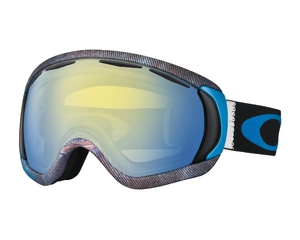 Маска Oakley Canopy Aberdeen White Blue / H.I. Yellow Iridium