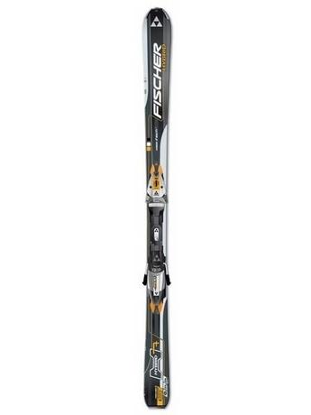 Горные лыжи Fischer Hybrid H7 + крепления FS10 RAILFLEX 2 07/08
