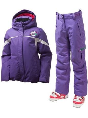 Детский костюм Rossignol DIAMOND Violet куртка + брюки