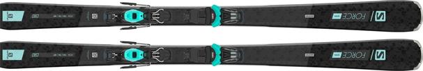 Горные лыжи Salomon S/Force W 7 + крепления M10 GW L80 21/22 (20/21)
