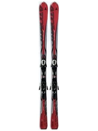 Горные лыжи Atomic Vario Scandium red + крепления XTO 10 10/11