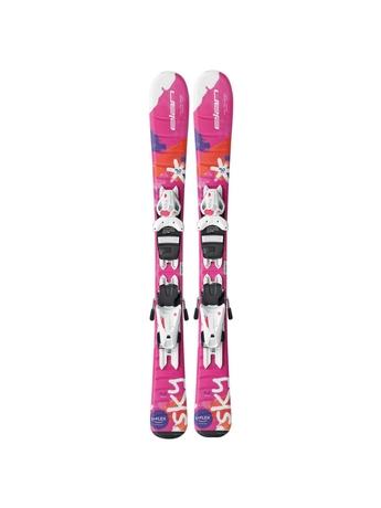 Горные лыжи Elan Sky QS + крепления EL 4.5 (70-100) 16/17