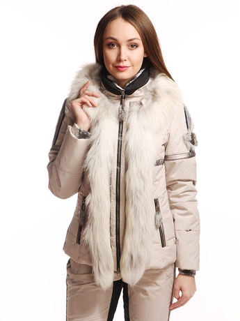 Куртка Sportalm Driftwood m Kragenpelz