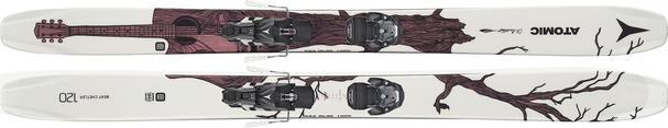 Горные лыжи Atomic Bent Chetler 120 + WAR MNC 13 (19/20)