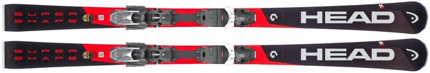 Горные лыжи Head Supershape i.Rally + крепления PRD 14 (18/19)