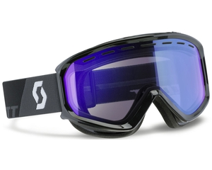 Маска Scott Level Black / Illuminator Blue Chrome
