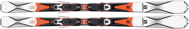 Горные лыжи Salomon X-Drive 7.5 R + крепления Lithium 10 (16/17)