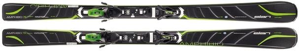 Горные лыжи Elan Amphibio 78 Carbon Fusion + EL 11 (14/15)