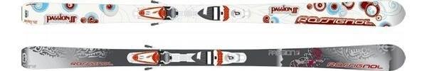 Горные лыжи Rossignol Passion II + крепления SAPHIR 90 TPI2 (07/08)