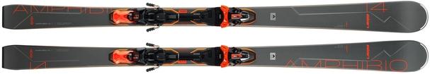 Горные лыжи Elan Amphibio 14Ti FusionX + крепления EMX 11 FusionX (19/20)