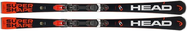 Горные лыжи Head i.Supershape Rally + крепления PRD 14 (17/18)