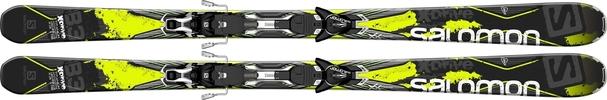 Горные лыжи Salomon X-Drive 8.3 + крепления XT12 (14/15)