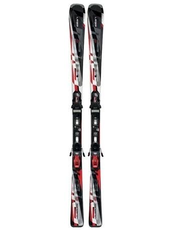 Горные лыжи с креплениями Elan Waveflex 10 Red + EL 10 12/13