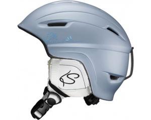 Горнолыжный шлем Salomon Pearl Origins Steel Matt