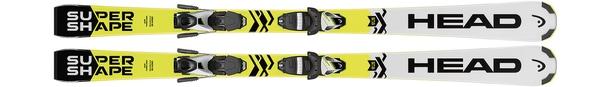 Горные лыжи Head Supershape SLR2 + крепления SLR 7.5 AC (17/18)