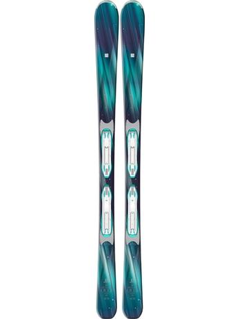 Горные лыжи Salomon Iris + крепления Lithium 10 W 15/16