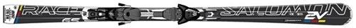 Горные лыжи Salomon 2V Race Powerline + крепление z14 (10/11)