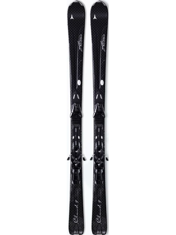 Горные лыжи Atomic Cloud 9 black + крепления XTL 9 Lady 10/11