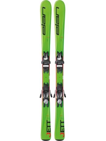 Горные лыжи Elan Jett QT + крепления EL 4.5 (110-120) 16/17
