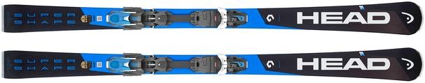 Горные лыжи Head Supershape i.Titan + крепления PRD 12 (18/19)