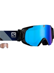 Маска Salomon XVIEW Xtra L Black / ML Blue Solar