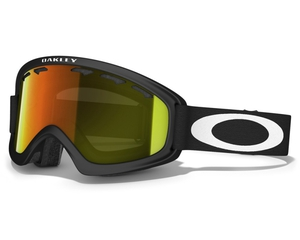 Маска Oakley 02 XS Matte Black / Fire Iridium