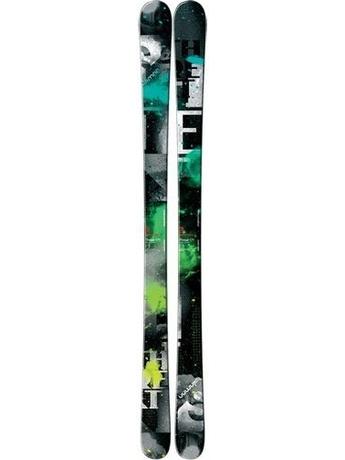 Горные лыжи Salomon Threat Black / Green / Grey 11/12