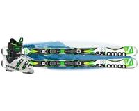 Горнолыжный комплект Salomon X-Drive 8.0 BT + крепления Lithium 10 + Head Adapt Edge 95