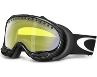 Маска Oakley A-Frame True Carbon Fiber / H.I. Yellow