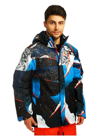 Куртка Salomon Zero Jacket M Union Blue/OR/BL