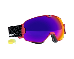 Маска Salomon XMax AF Red / Infrared + Light Yellow Multilayer Low Light