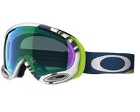 Маска Oakley A-Frame 2.0 Smoke Rings Lime Blue / H.I. Persimmon