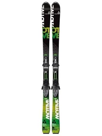 Горные лыжи с креплениями Fischer Motive 76 Powerrail + RS11 Powerrail 12/13