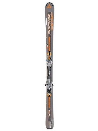 Горные лыжи Fischer AMC 76 + крепления FX12 RAILFLEX 2 07/08