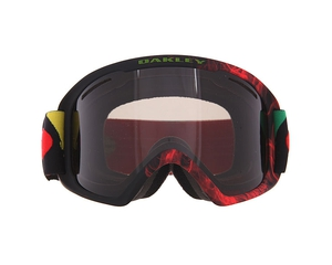 Маска Oakley 02 XL Burned Out Rasta / Dark Grey
