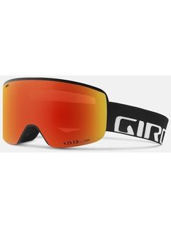 Маска Giro Axis Black Wordmark / Vivid Ember 37 + Vivid Infrared 62