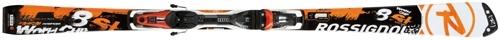 Горные лыжи с креплениями Rossignol R.8 SL SlantNose TPX + AXIUM 120S TPI - SOLAR (12/13)