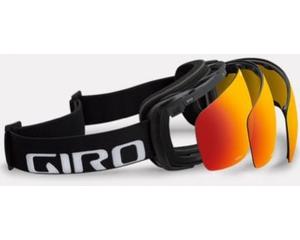 Маска Giro Contact Bright Green / Loden Green + Yellow Boost
