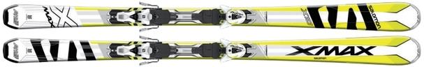 Горные лыжи Salomon X-Max X10 + крепления XT 12 (16/17)