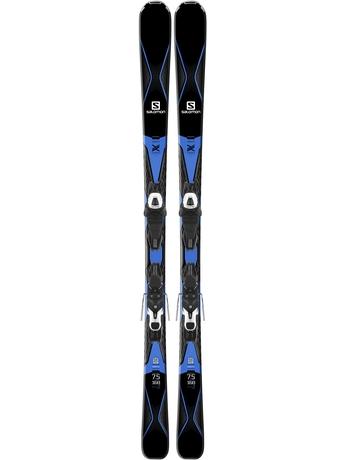 Горные лыжи Salomon X-Drive 7.5 + крепления Lithium 10 16/17