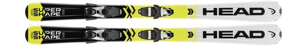 Горные лыжи Head Supershape Team SLR2 + крепления SLR 7.5 AC (17/18)