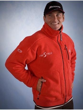 Куртка Besson Sherpa red