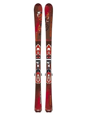 Горные лыжи Rossignol Attraxion V + крепления SAPHIR 110 TPI2 07/08